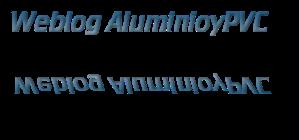 Weblog AluminioyPVC.